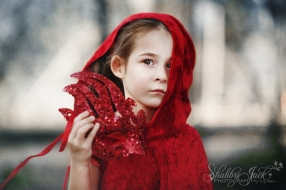 Girl in Red Cape